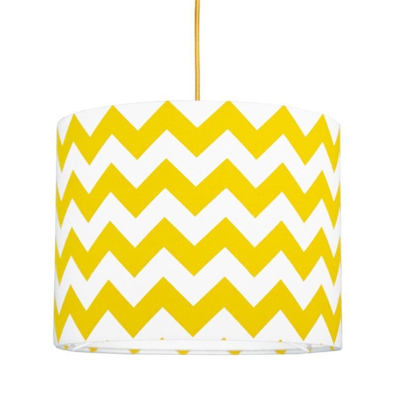 Young Deco - Lampa Sufitowa Mini Chevron Żółta