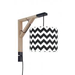Young Deco - Lampa Simple Chevron Czarny