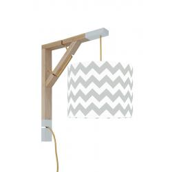 Young Deco - Lampa Simple Chevron Szary