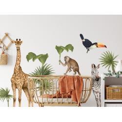 Naklejka Safari Zwierzęta II