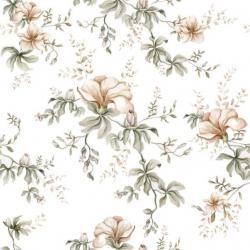 Tapeta Flowers Of Wilderness White