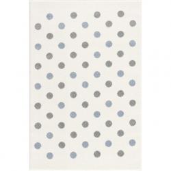 Dywan Confetti cream/blue-silver grey