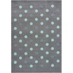 Dywan Confetti silver grey/mint