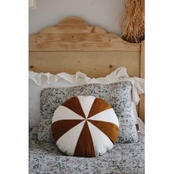 Poduszka patchworkowa Karmelowy Drops