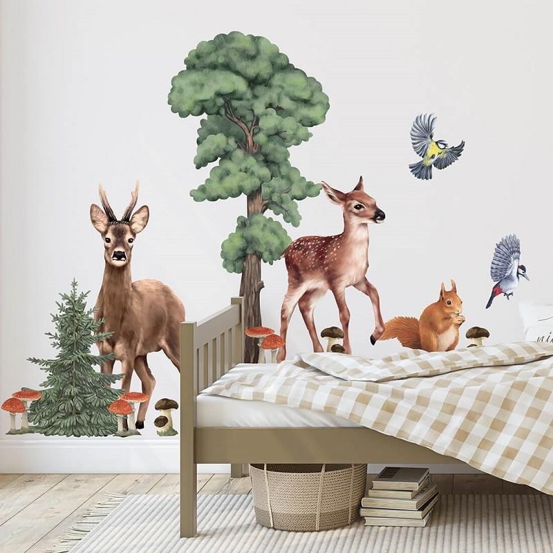Naklejka Leśne Zwierzęta II