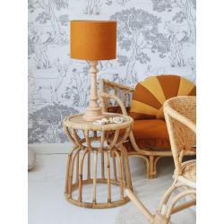 Lamps&Co Lampa Lniana Musztardowa
