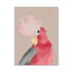 Humpty Dumpty Plakat Pink Parrot