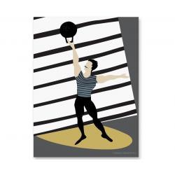 Humpty Dumpty Plakat dziecięcy Athlete 2
