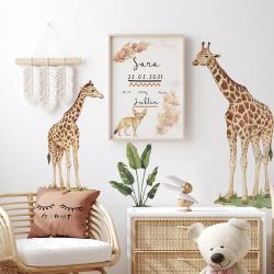 Naklejka Zestaw Żyrafy