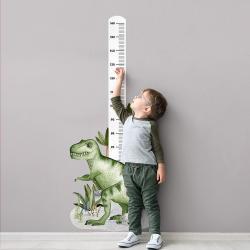 Naklejka Miarka Wzrostu Tyranozaur