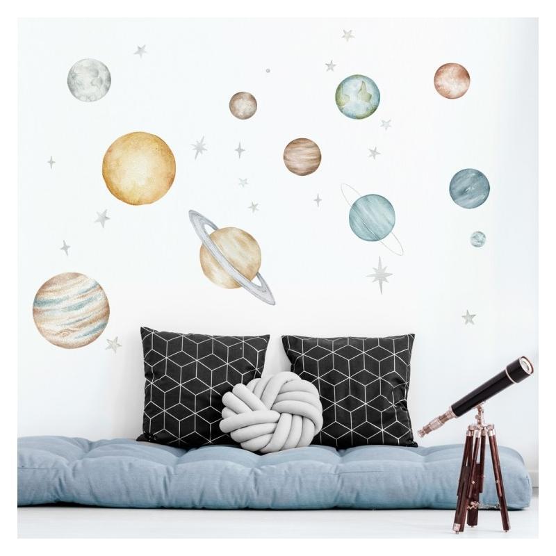 Naklejka Planety