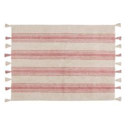 Dywan Stripes Coral Pink
